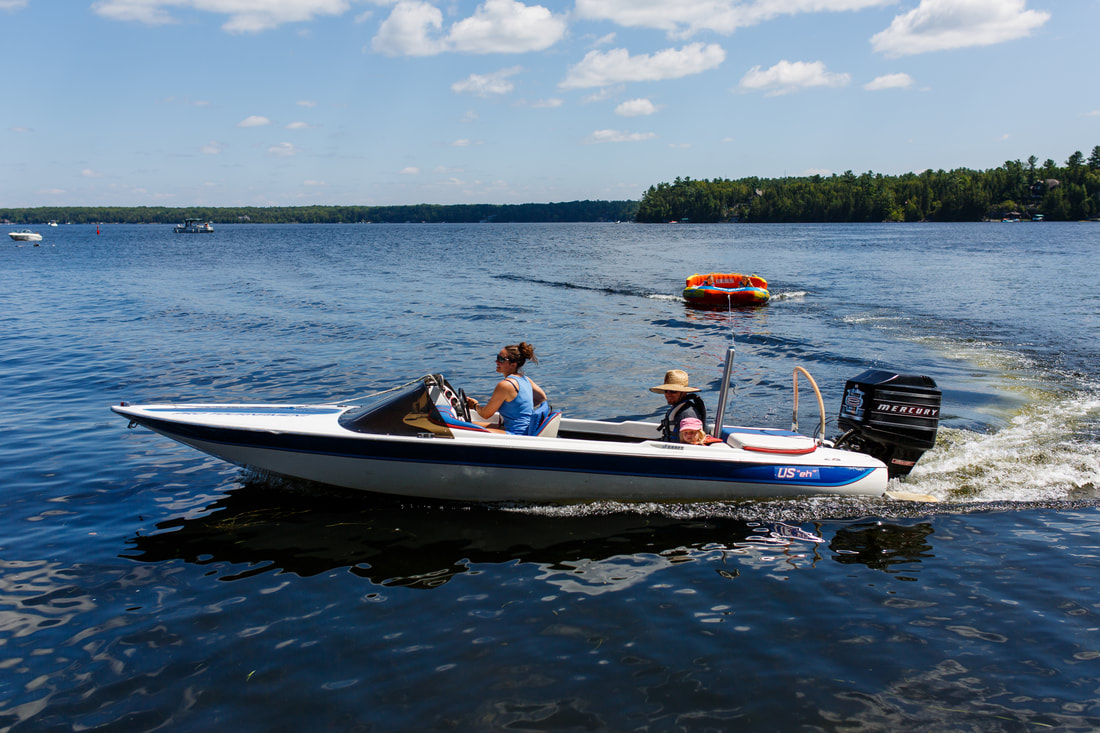Summer Boating at Clearview Cottage Resort